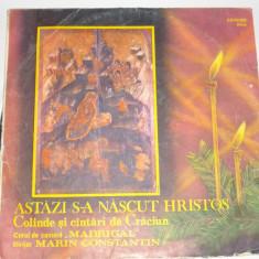 Disc vinil - Astazi s-a nascut Hristos - Muzica Sarbatori