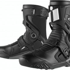 MXE Cizme Icon Raiden Waterproof DKR Negru Cod Produs: 34030673PE - Cizme Moto
