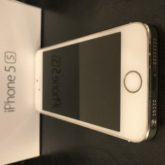 iPhone 5S Apple 16GB Neverlocked (liber de retea), Auriu, Neblocat