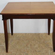 Masa din lemn masiv 100X75 cm; Masa solida - Masa gradina