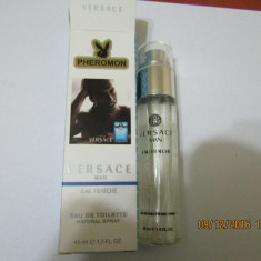 NOU!!!!PARFUM 45 ML VERSACE EAU FRAICHE -SUPER PRET, SUPER CALITATE! - Parfum barbati Versace, Apa de toaleta