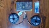 Kit complet 2 benzi led RGB 5050 (10 m, 600 led-uri)