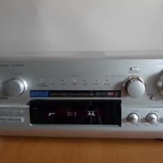 Receiver Technics SA-DX940 sampanie, telecomanda, poze reale - Amplificator audio