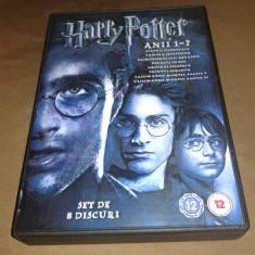 Harry Potter 8 DVD - Colectia Completa subtitrata romana - Film animatie Altele
