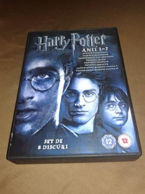 Harry Potter 8 DVD - Colectia Completa subtitrata romana foto
