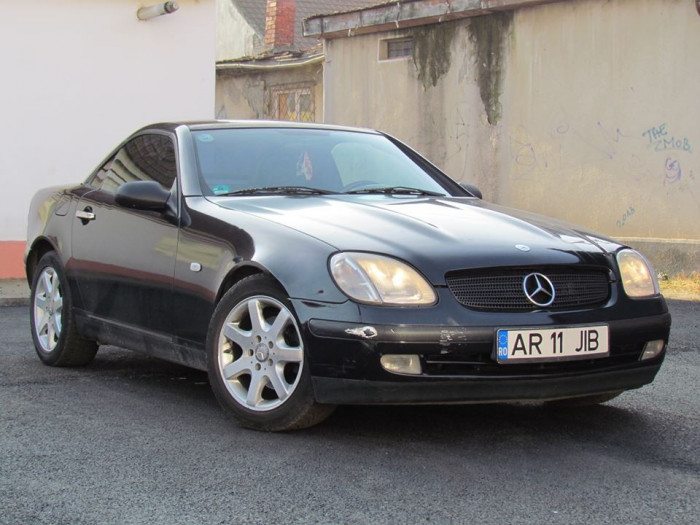 mercedes slk 200 cabrio 2 0 benzina an 1999 stoc epuizat. Black Bedroom Furniture Sets. Home Design Ideas