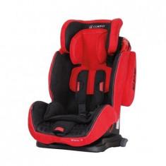 Scaun Auto Sportivo Cu Isofix Red Coletto - Scaun auto copii Coletto, 1-2-3 (9-36 kg), In sensul directiei de mers