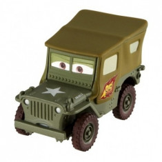 Disney Cars 2 - Race Team Sarge (Sergentul) - Masinuta Mattel