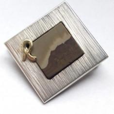 Brosa veche - Brosa argint