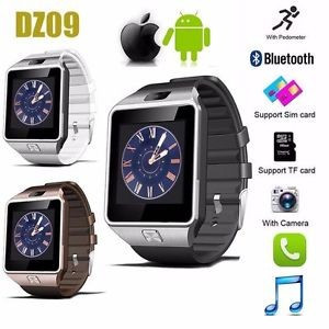 2 in 1: Smartwatch DZ09 si Telefon, Bluetooth, Camera, Sim, Card, Android & iOS foto mare