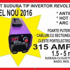 Invertor. Aparat de sudura. REVOLT 315 A MMA - Tehno. IGBT model 2016