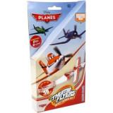 2 Lansatoare Planes + 2 Avioane - Avion de jucarie
