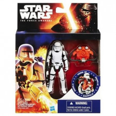 Jucarie Star Wars The Force Awakens Space Mission Armour First Order Flametrooper - Masinuta Hasbro