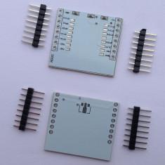 Placa adaptoare pentru module WiFi ESP8266 ( ESP-07, ESP-08, ESP-12 ) - Adaptor
