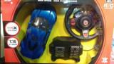 Masinuta cu telecomanda tip volan si pedale OFERTA