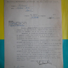 HOPCT DOCUMENT VECHI 9-DIRECTIUNEA GENERALA CAILE FERATE ROMANE BUCURESTI 1946, Documente
