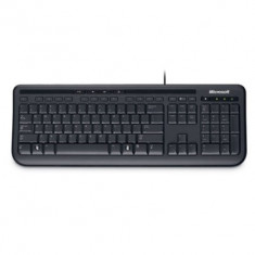 Wired Keyboard 600 USB Port PL/RO Hdwr Black - Tastatura Microsoft