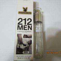 NOU!!!!PARFUM 45 ML 212 MEN --SUPER PRET, SUPER CALITATE! - Parfum barbati Carolina Herrera, Apa de toaleta
