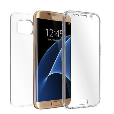 Husa Samsung Galaxy A5 A510 2016 Full Body TPU Transparenta foto