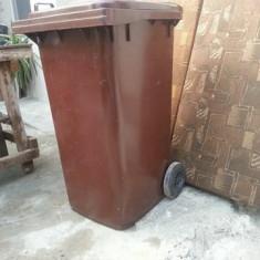 Pubela de gunoi de 220 l de plastic