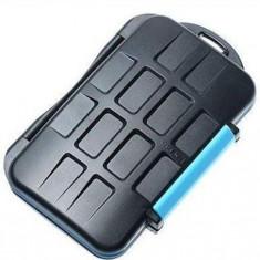 Card hard case holder wallet portofel pt carduri CF SDHC SD