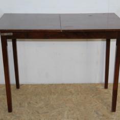 Masa extensibila 152X76 cm; Masa din lemn masiv - Masa living