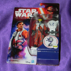 Figurina STAR WARS The Force Awakens Poe Dameron - 9,5 cm  Disney Hasbro, 5-6 ani