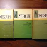 Despre spiritul legilor, vol 1, 2, 3 - Montesquieu (1964 - 1970) - Filosofie