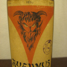 Lichior avernus, cucchi, (italy), cl 50 gr 42 ani 1947/1949 serie 1 sticla 3845