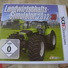 Farming Simulator 2012 -Nintendo 3DS - Jocuri Nintendo 3DS, Simulatoare, 3+, Single player