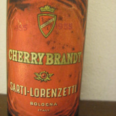 Cherry brandi, sarti italy, cl. 75 gr. 32 ani 1950 - Lichior