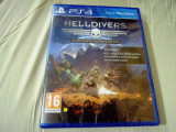 Helldivers, PS4, sigilat, alte sute de jocuri!, Actiune, 16+, Multiplayer