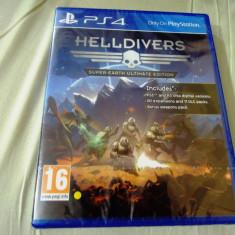 Helldivers, PS4, sigilat, alte sute de jocuri! - Jocuri PS4, Actiune, 16+, Multiplayer