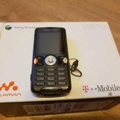 Sony Ericsson W810i, la cutie- 119 lei - Telefon mobil Sony Ericsson, Negru, Nu se aplica, Neblocat, Fara procesor