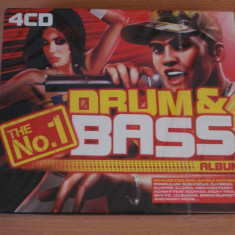 The No.1 Drum and Bass Album (4CD) - Muzica Drum and Bass