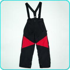 Pantaloni ski / iarna, grosi, impermeabili, KIKI & KOKO _ copii | 9-10 ani | 140, Marime: Alta, Culoare: Negru, Unisex