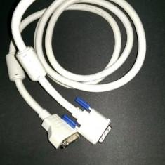 Cablu prelungitor (extensie) DVI 24+5 tata la mama 2 m Inalta calitate - Cablu PC Delock