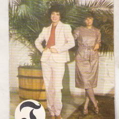 Bnk cld Calendar de buzunar 1984 - Tricodava