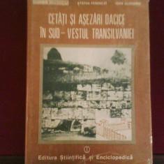 St. Ferenczi I. Glodariu Cetati si asezari dacice in sud-vestul Transilvaniei - Istorie