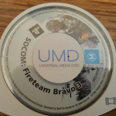 Joc playstation portable psp SOCCOM: Fireteam Bravo gen Shooter - Jocuri PSP Activision, Shooting, Toate varstele