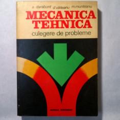 A. Darabont, D. Vaiteanu, M. Munteanu - Mecanica tehnica - Carti Mecanica