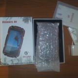 Telefon Discovery V8 - Militar/Antisoc/Rezisten la Apa/Praf - Nou/Cutie/Italia, Portocaliu, 8GB, Neblocat, Dual core, 1 GB