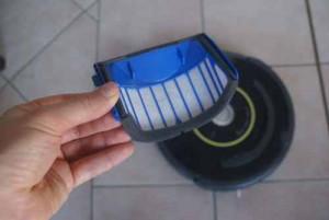 Filtru pentru iRobot Roomba tip AeroVac pentru seria 600 - set 3 buc