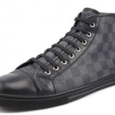 LOUIS VUITTON Pantofi Barbatesti 2016 !!! - Adidasi barbati Louis Vuitton, Marime: 42, Culoare: Negru