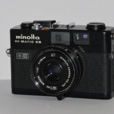 Minolta Hi-Matic CS - Rangefinder - Japan 1979 - Transport gratuit prin posta! - Aparat Foto cu Film Konica Minolta, RF (Rangefinder)
