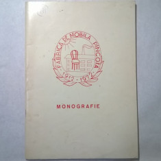 Fabrica de mobila Pancota Monografie - Istorie
