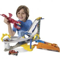 Jucarie baieti Dragonul distrugator Hot Wheels - Masinuta