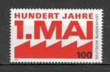 Germania.1990 100 ani Ziua Muncii  SG.658, Nestampilat