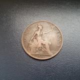 MAREA BRITANIE - 1 PENNY 1901 REGINA VICTORIA, Europa