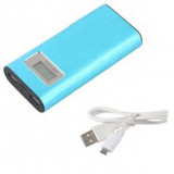 Baterie externa Power bank 30.000 mAh aluminium